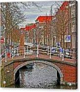 Bridge Of Delft Acrylic Print