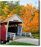 Bridge Of Madison County Acrylic Print
