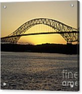 Bridge Of The Americas Panama Acrylic Print