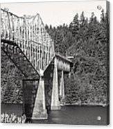 Bridge Of The Gods Acrylic Print