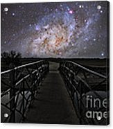 Bridge On A Distant Planet Acrylic Print