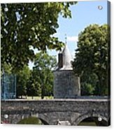 Bridge Over Chateau Moat Acrylic Print