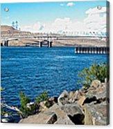 Bridge Over Columbia River At Umatilla-or  Acrylic Print