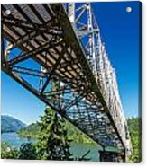 Bridge Over Columbia River Acrylic Print