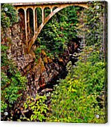 Bridge Over North Harbour River-nl Acrylic Print
