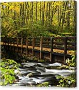 Bridge Over Oconaluftee Acrylic Print