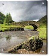 Bridge Over River, Scotland Acrylic Print