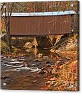 Bridge Over Smith River Acrylic Print