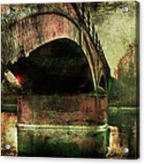 Bridge Over The Canal Acrylic Print