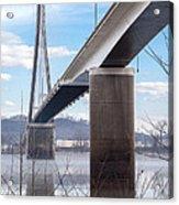 Bridge Over The Mist Acrylic Print