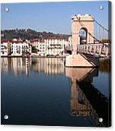 Bridge Over The Rhone River Acrylic Print