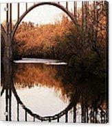 Bridge Over The River Cuyahoga Acrylic Print