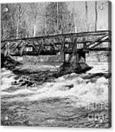 Bridge Over Troubled Water Acrylic Print