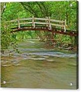 Bridge Over Valley Creek Acrylic Print