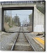 Bridge Overpass Acrylic Print