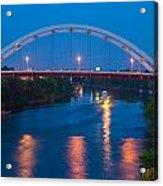 Bridge Reflections Acrylic Print