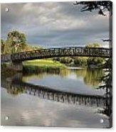 Bridge To 18th Green Acrylic Print