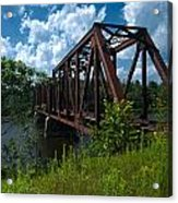 Bridge To A Time Gone By Acrylic Print