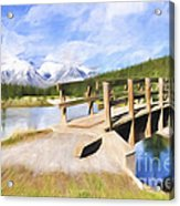 Bridge To Beauty Acrylic Print