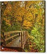 Bridge To Eden Acrylic Print
