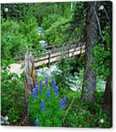 Bridge To Glory Acrylic Print