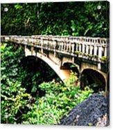 Bridge To Hana Maui Acrylic Print