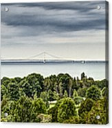 Bridge To Mackinac Acrylic Print