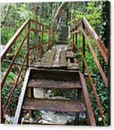 Bridge To Simiez Acrylic Print