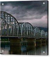 Bridge To Teslin Acrylic Print