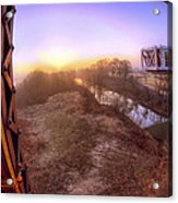 Bridge To The 21st Century - Clinton Presidential Library - Arkansas - Little Rock Acrylic Print