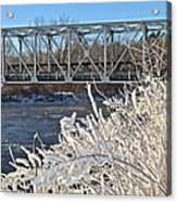Bridge To Winter Acrylic Print