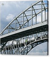 Bridge Traffic Acrylic Print