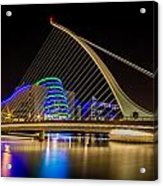Samuel Beckett Bridge Dublin Acrylic Print