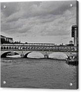 Bridges In Paris Acrylic Print