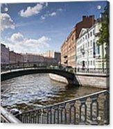Bridges Of St. Petersburg Acrylic Print