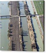 Bridges Over Channels, Vix Acrylic Print