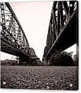 Bridges Over Acrylic Print