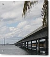 Bridges Over The Sea Acrylic Print