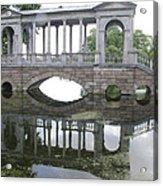 Bridge's Reflection Acrylic Print