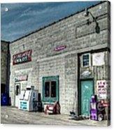Bridgewater Depot Acrylic Print