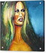 Bridgit Bardot Acrylic Print