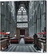 Bridlington Abbey Acrylic Print