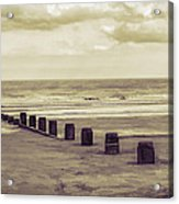 Bridlington Beach Acrylic Print