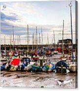 Bridlington Harbour Acrylic Print
