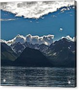 Bright And Cloudy Acrylic Print