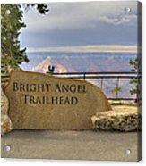 Bright Angel Trailhead Acrylic Print