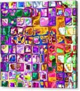 Bright Boxes I Acrylic Print