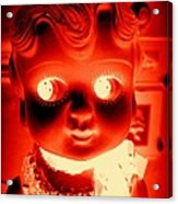 Bright Eyed Kewpie Acrylic Print