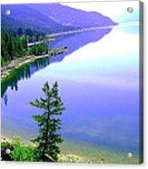 Bright Kootenay Lake Acrylic Print