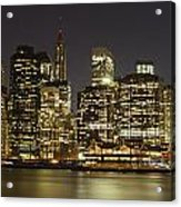 Bright Lights Big City Acrylic Print